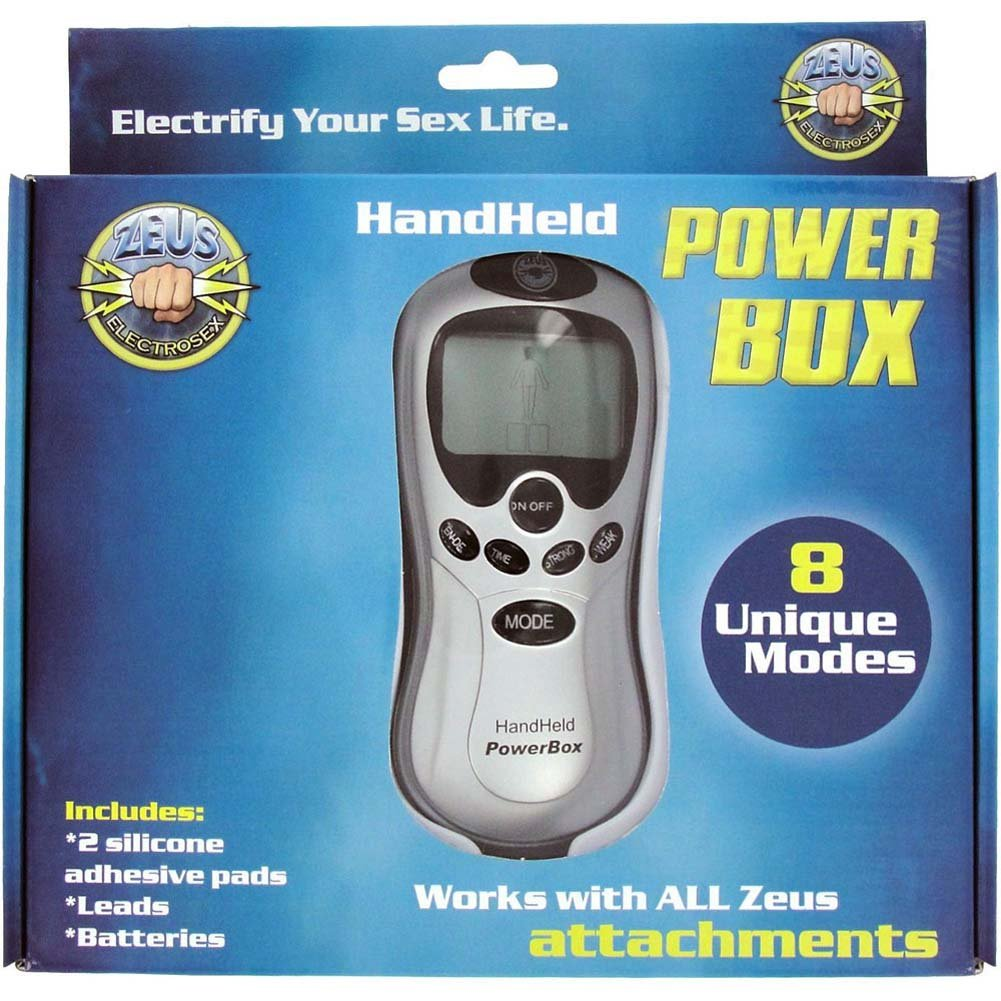 Zeus Electrosex Power Box Handheld 8 Mode Digital Display - View #1