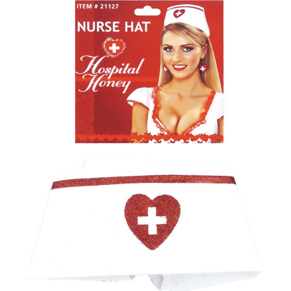 Hospital Honey Nurse Hat - View #1