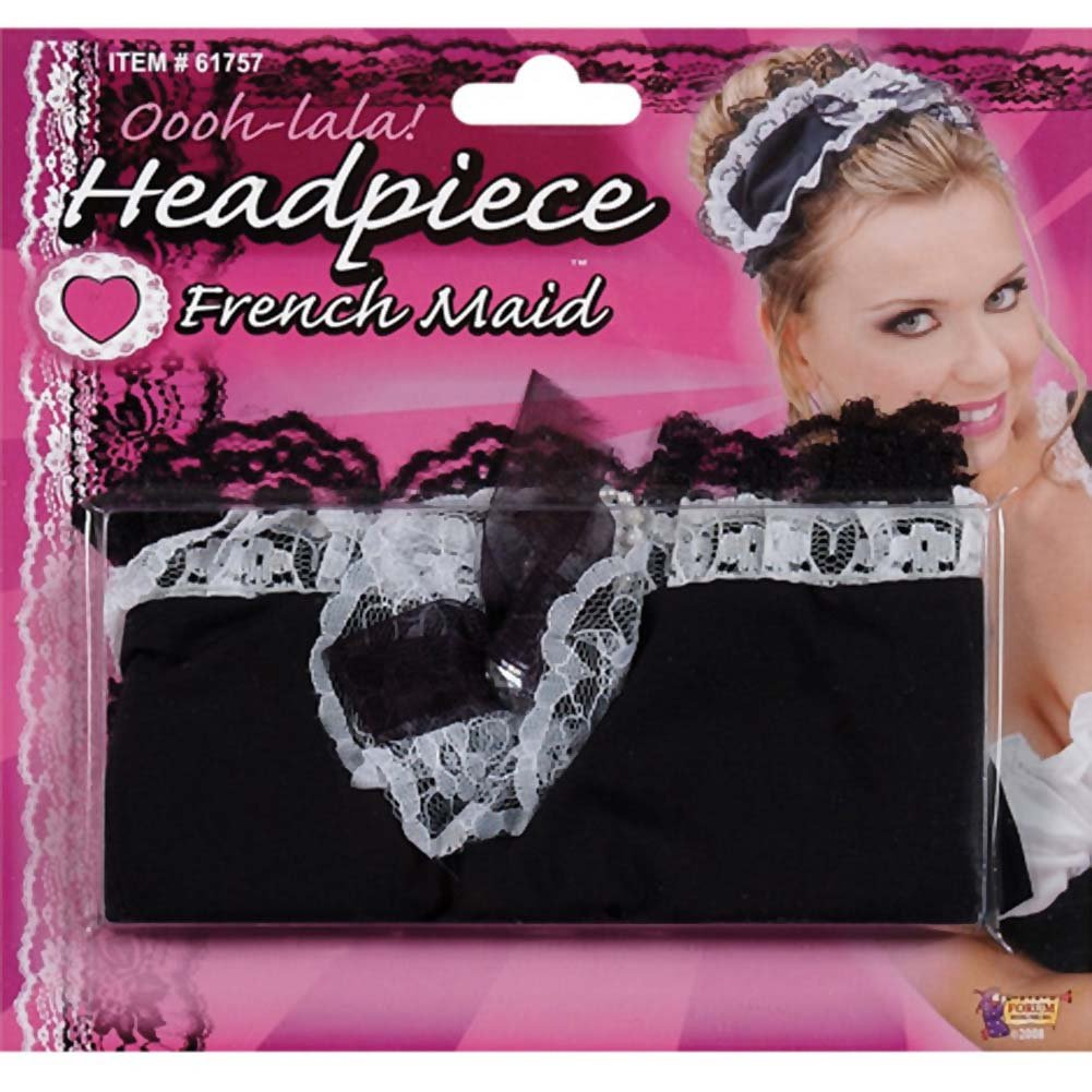 French Maid Headpiece - View #3
