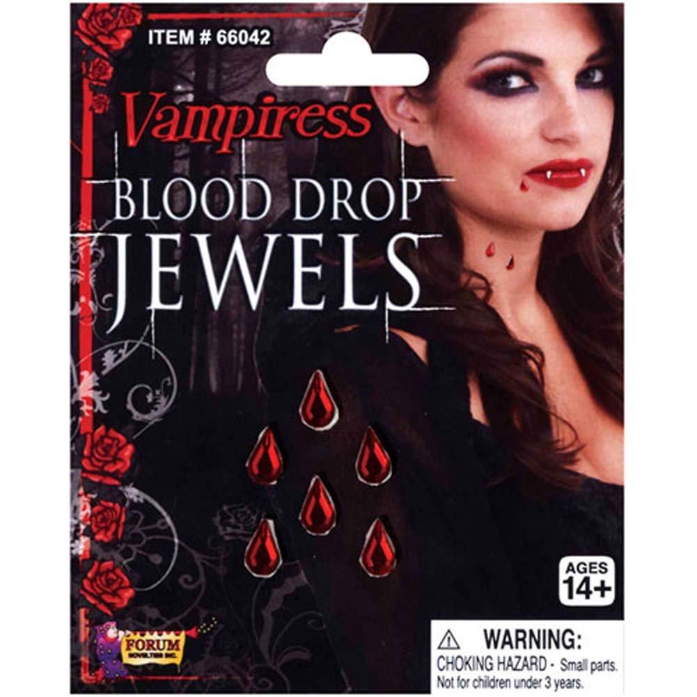 Vampiress Blood Drop Jewels - View #1