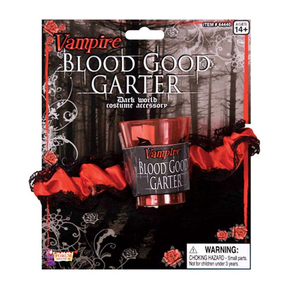 Vampiress Blood Garter - View #1