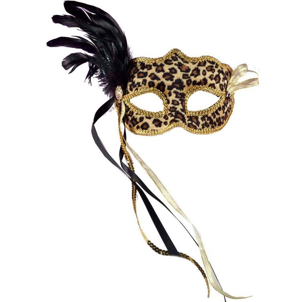Venetian Mask - Leopard - View #1