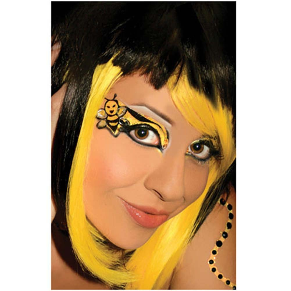 Xotic Eyes - Bumble Bee Lashes and Shadow Not Included - View #1