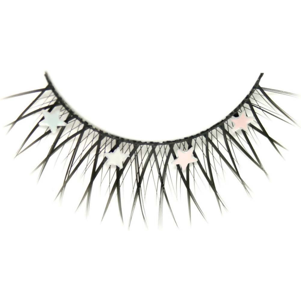 Eye Candy Endless Night Shimmer Star Lashes Black - View #2