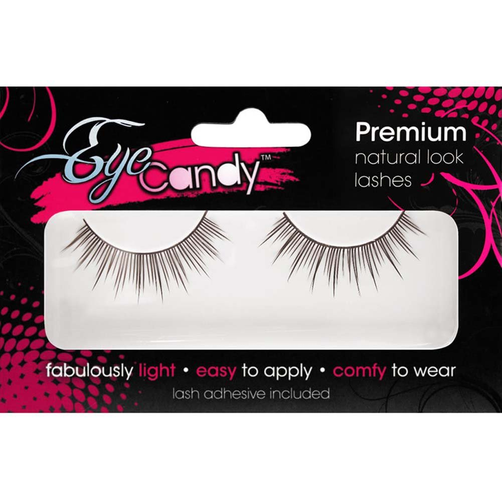 Eye Candy Crazy Girl Sophisticated Volume Lashes Black - View #1