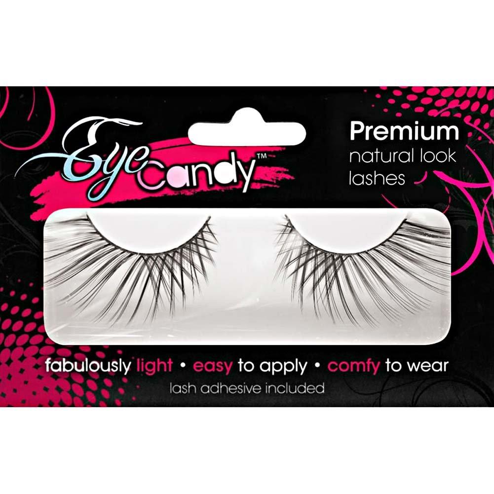 Eye Candy Leda Dramatic Flirty Lashes Black - View #1