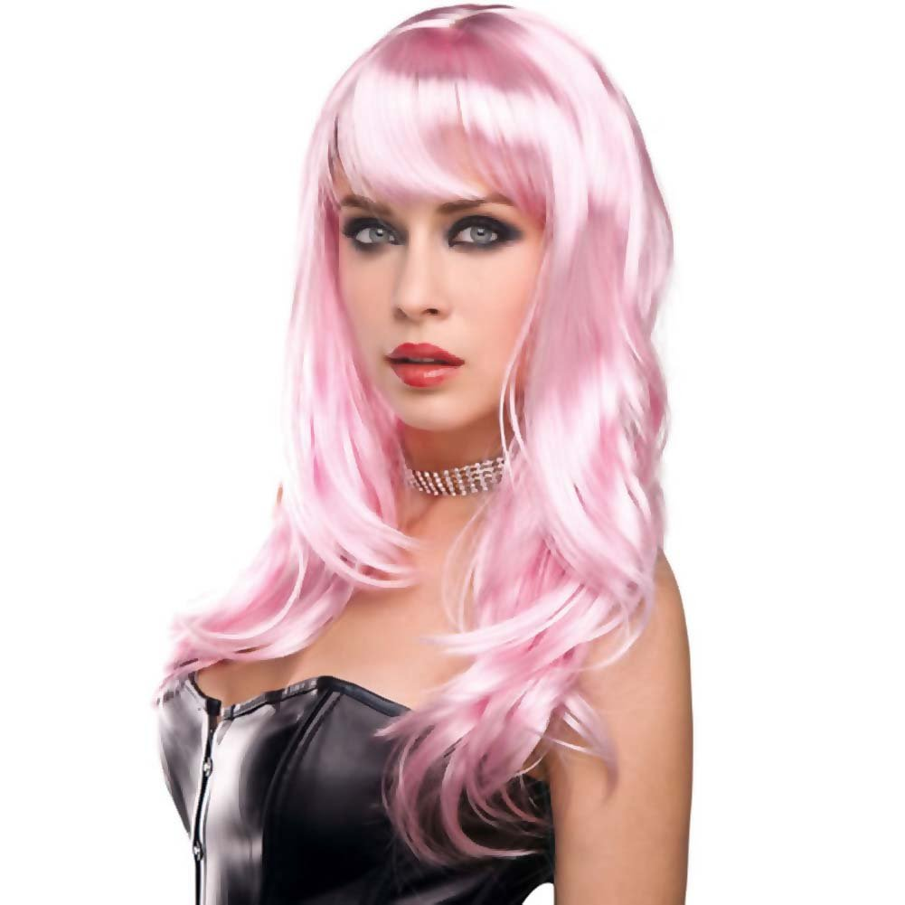 Pleasure Wigs Candy Wig Baby Pink - View #1