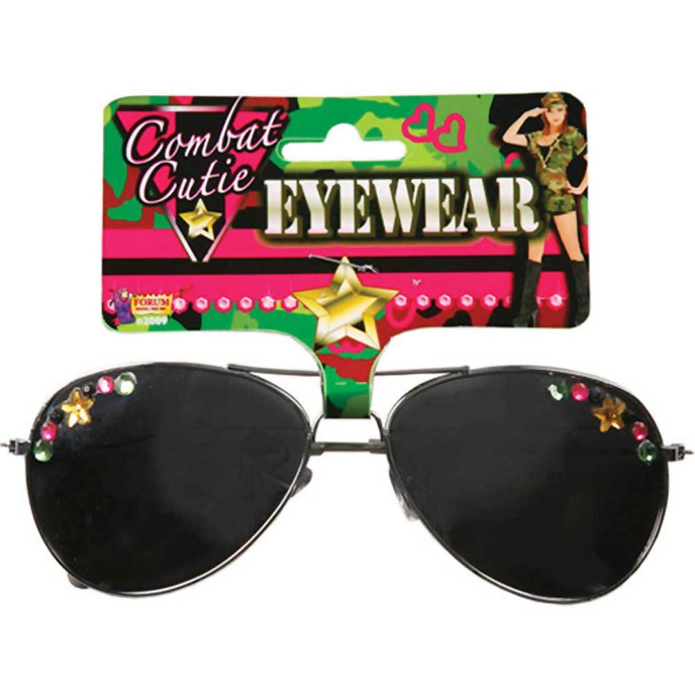 Combat Cutie Tinted Sun Glasses - View #1