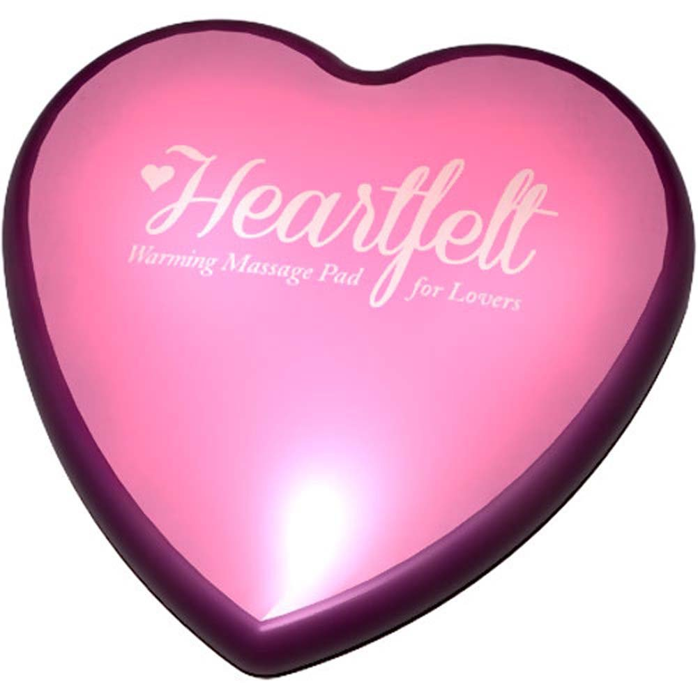 Blush Luxe Heartfelt Warming Massage Pad Pink Bulk - View #1