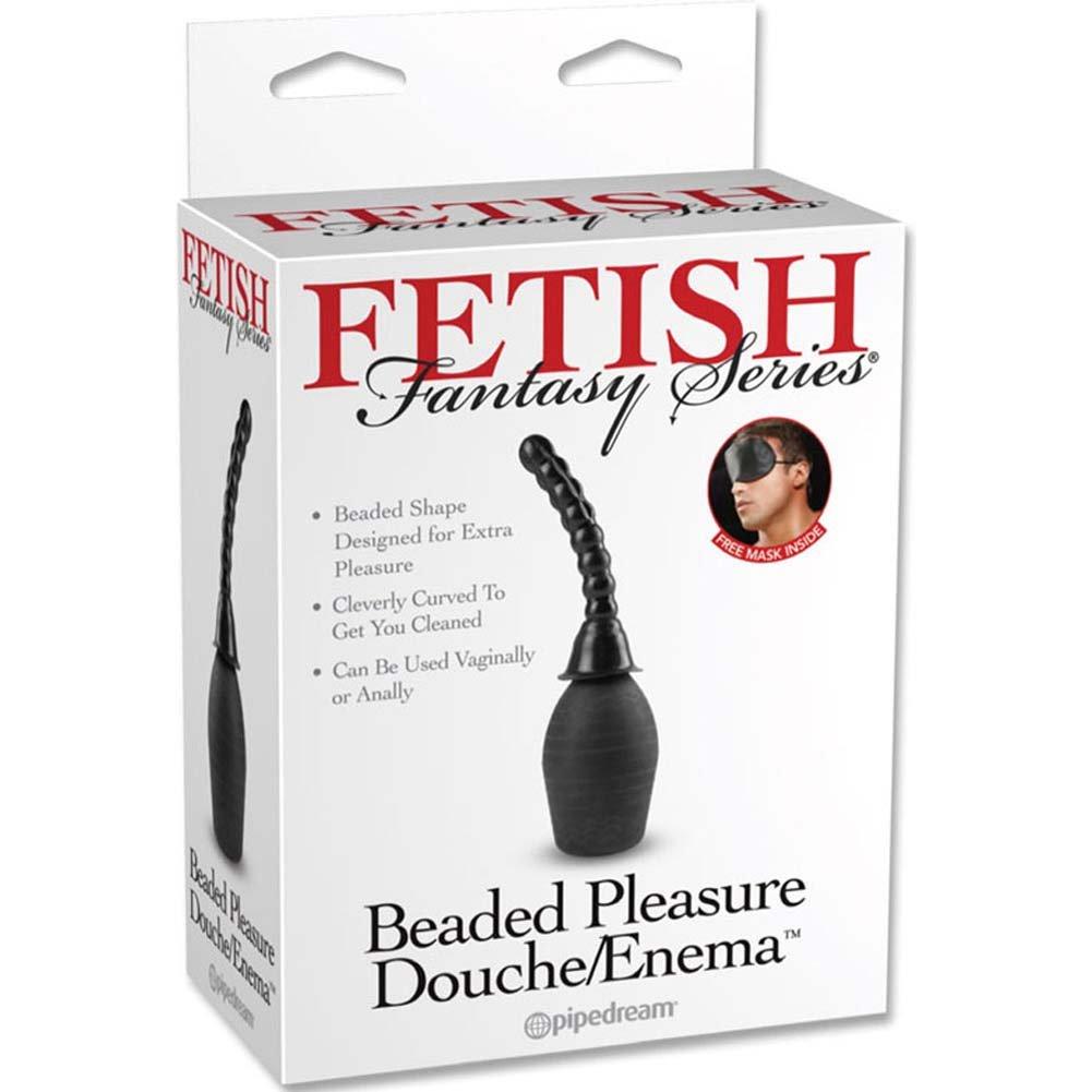 Fetish Fantasy Series Beaded Pleasure Douche/Enema Black - View #3