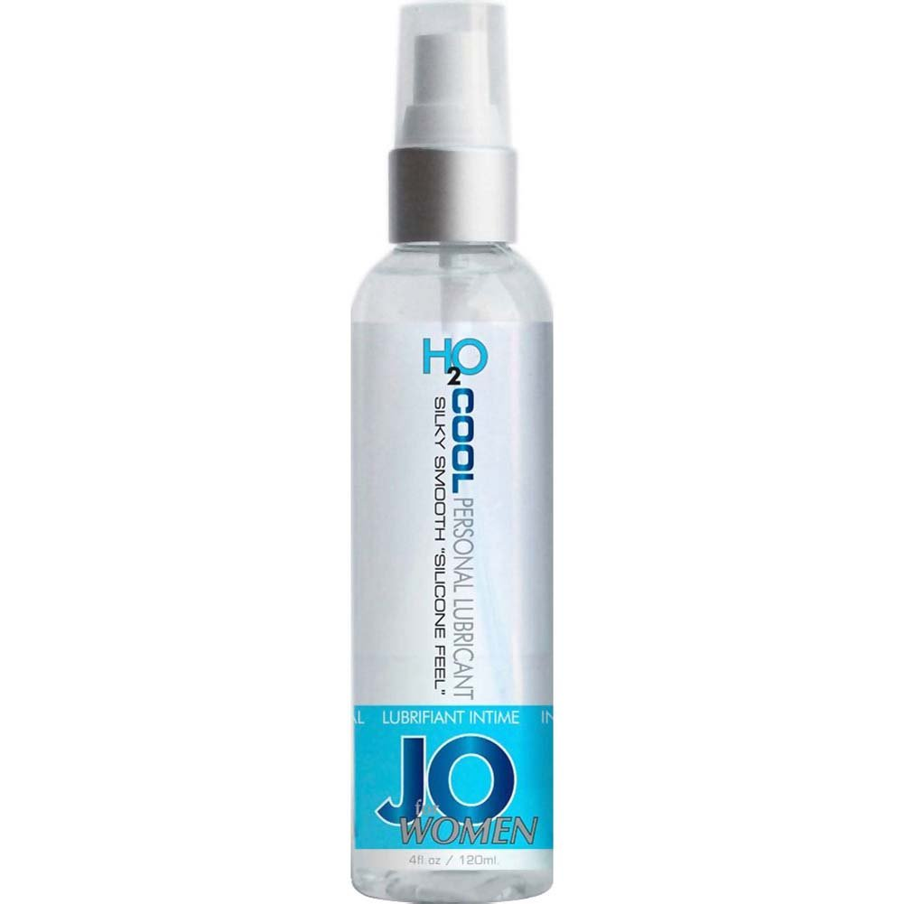 JO for Women H2O Cool Water Based Personal Lubricant 4 Fl. Oz. - View #1