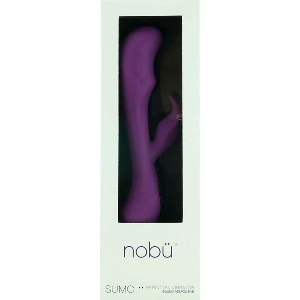 "Nobu Sumo - Sound Responsive Vibrator 9.5"" Purple - View #1"