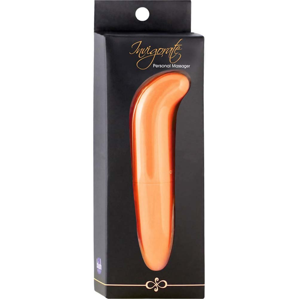 "Blush Invigorate - G-Spot Vibrator 5"" Tangerine - View #1"