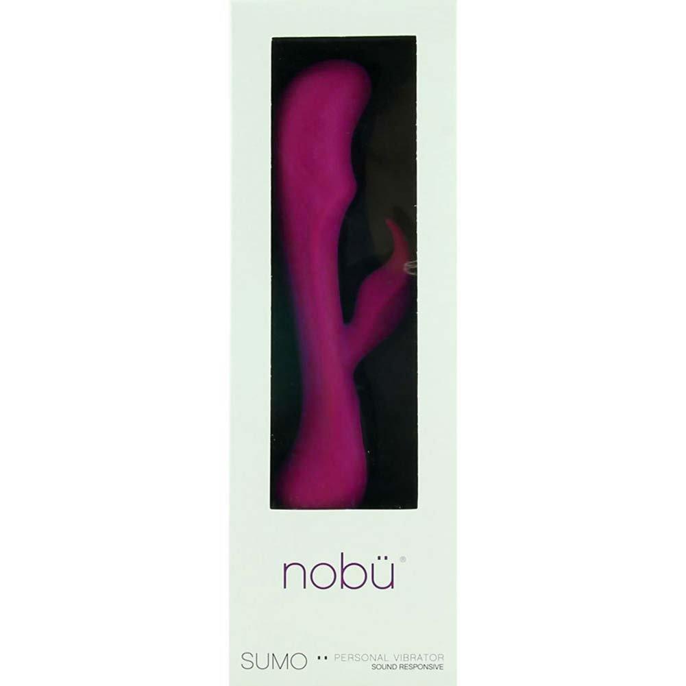 """Nobu Sumo - Sound Responsive Vibrator 9.5"""" Fushia - View #1"""