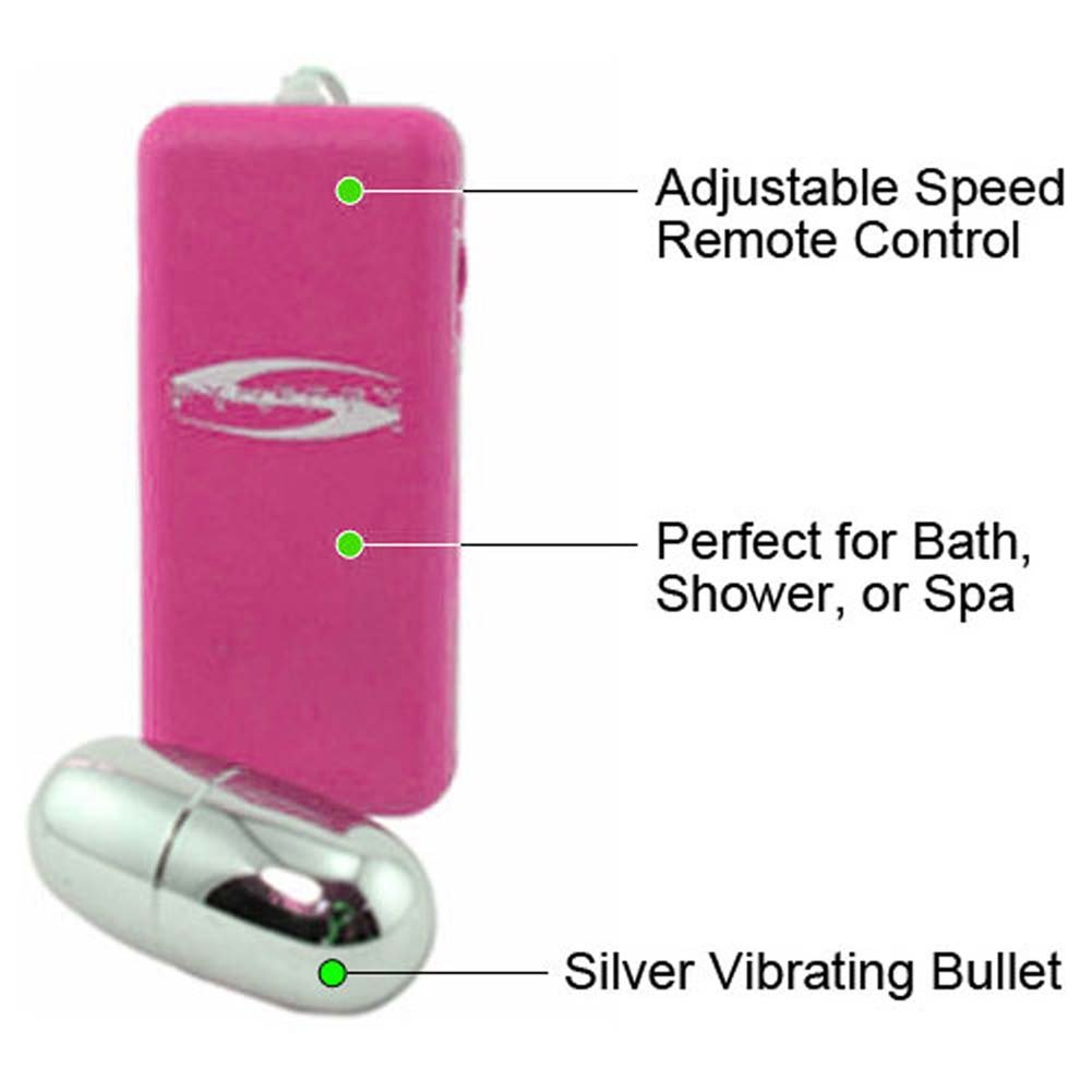 "Synergy Perfect Touch Mega Bullet Vibrator 2.5"" Pink - View #1"