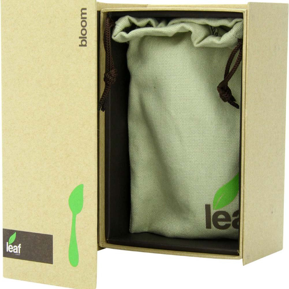 "Bloom by Leaf - Rechargeable Silicone Vibrator 6.5"" Green - View #1"