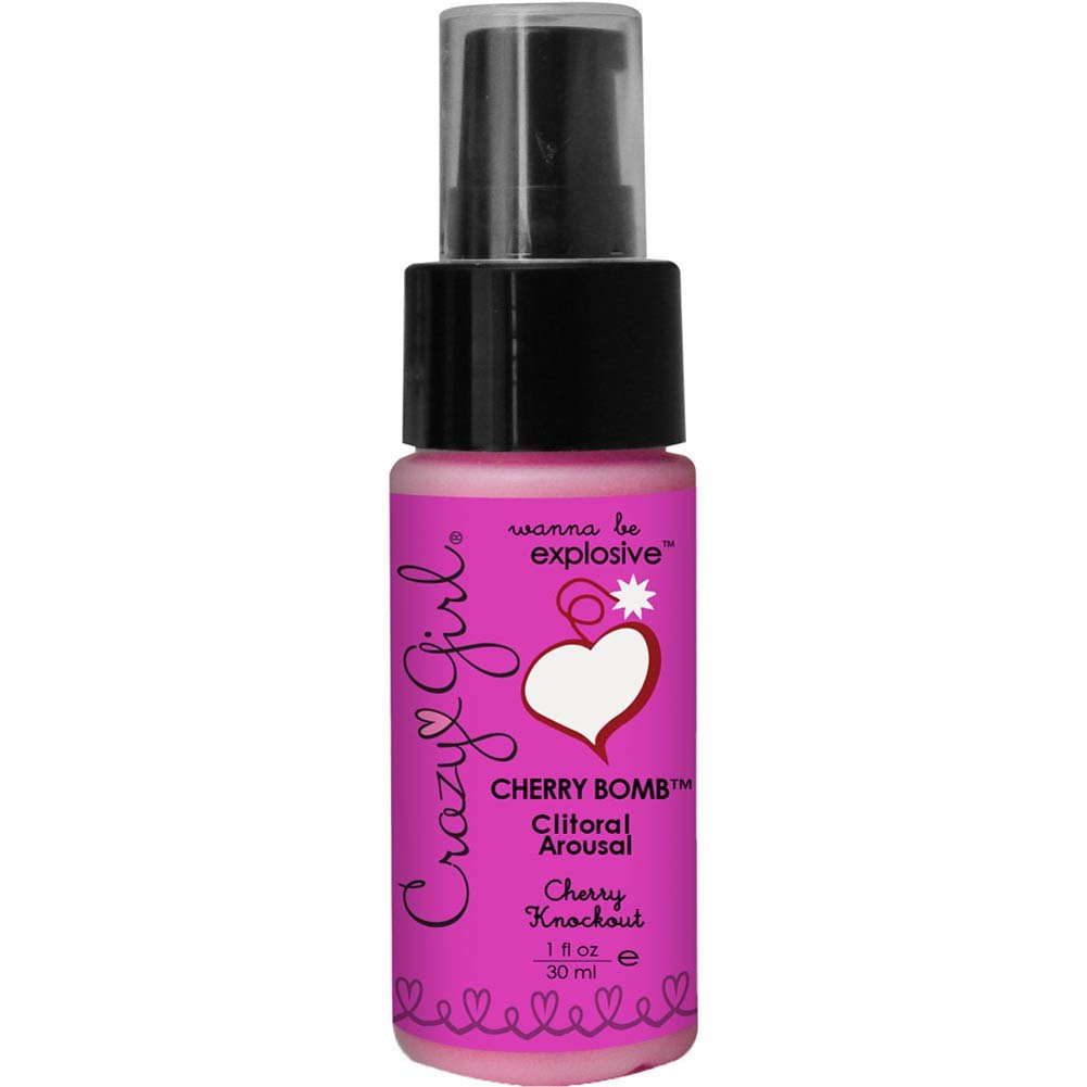 Crazy Girl Cherry Bomb Clitoral Arousal 1 Fl.Oz 30 mL Cherry Knockout - View #1