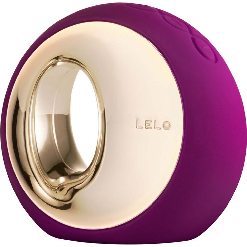 Lelo Ora 2 Vibrating Silicone Massager Deep Rose - View #2