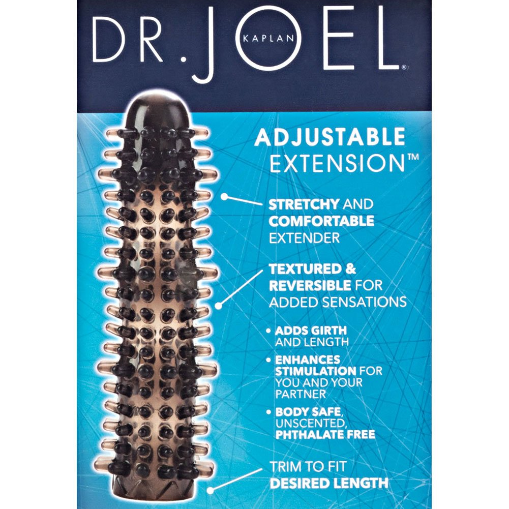 CalExotics Dr. Joel Kaplan Reversible Adjustable Extensions with Added Girth Smoke - View #1