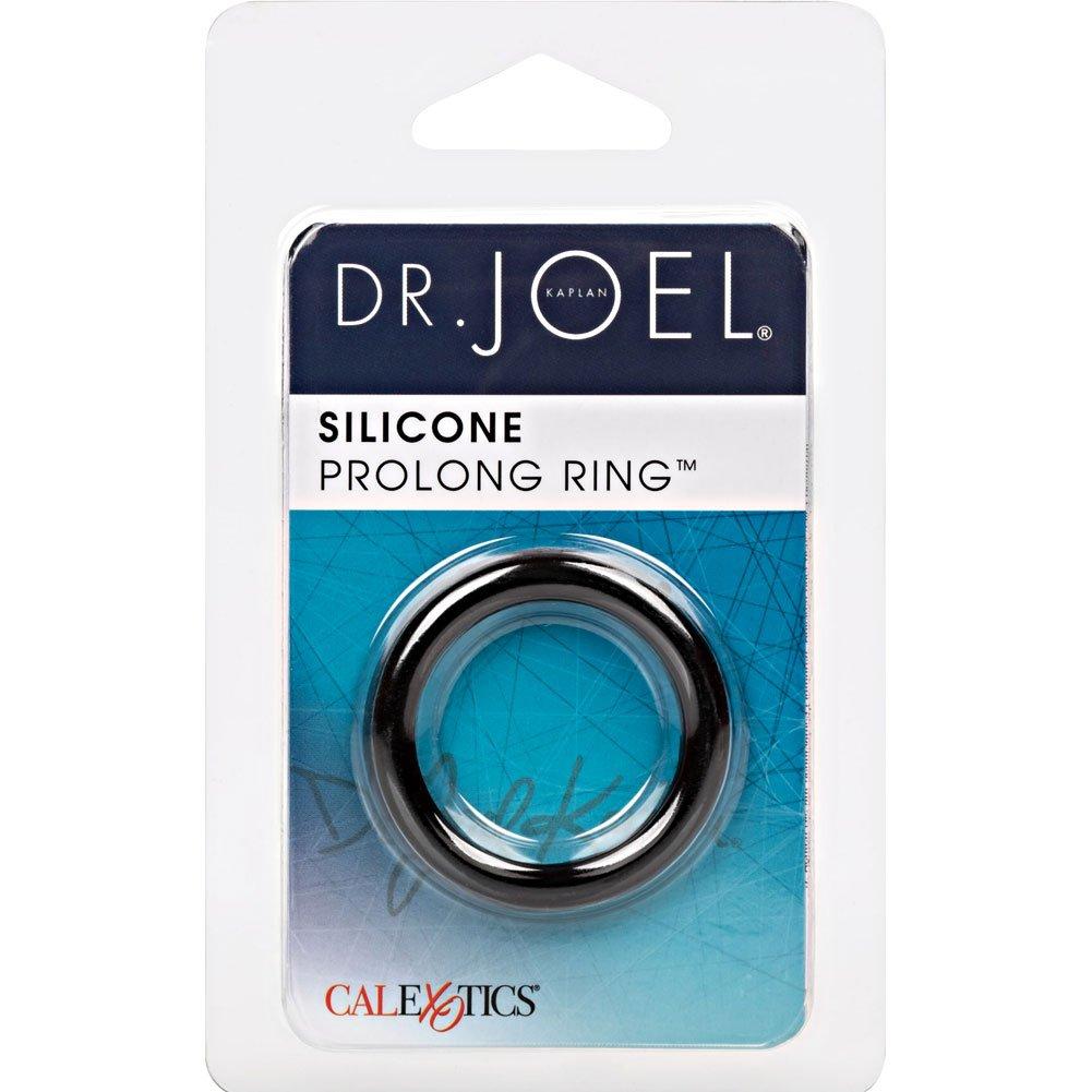 California Exotics Dr. Joel Kaplan Silicone Prolong Ring Black - View #1