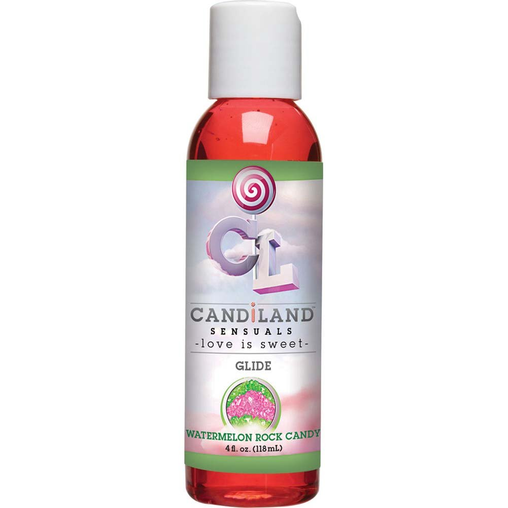 CANDiLAND SENSUALS Glide Watermelon Rock Candy 4 Fl. Oz. - View #2