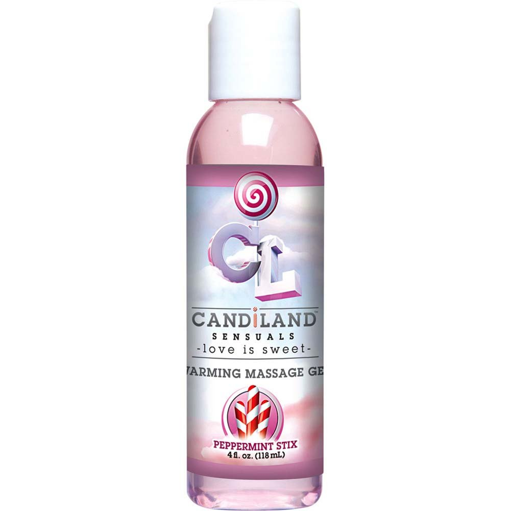 CANDiLAND SENSUALS Warming Massage Gel 4 Fl.Oz 120 mL Peppermint Stix - View #2