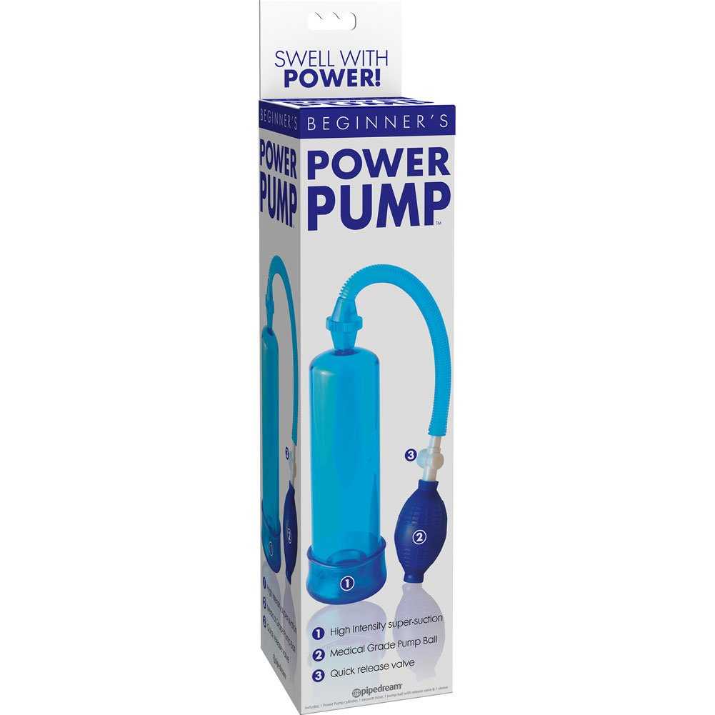 Beginners Power Pump for Men Blue - View #1
