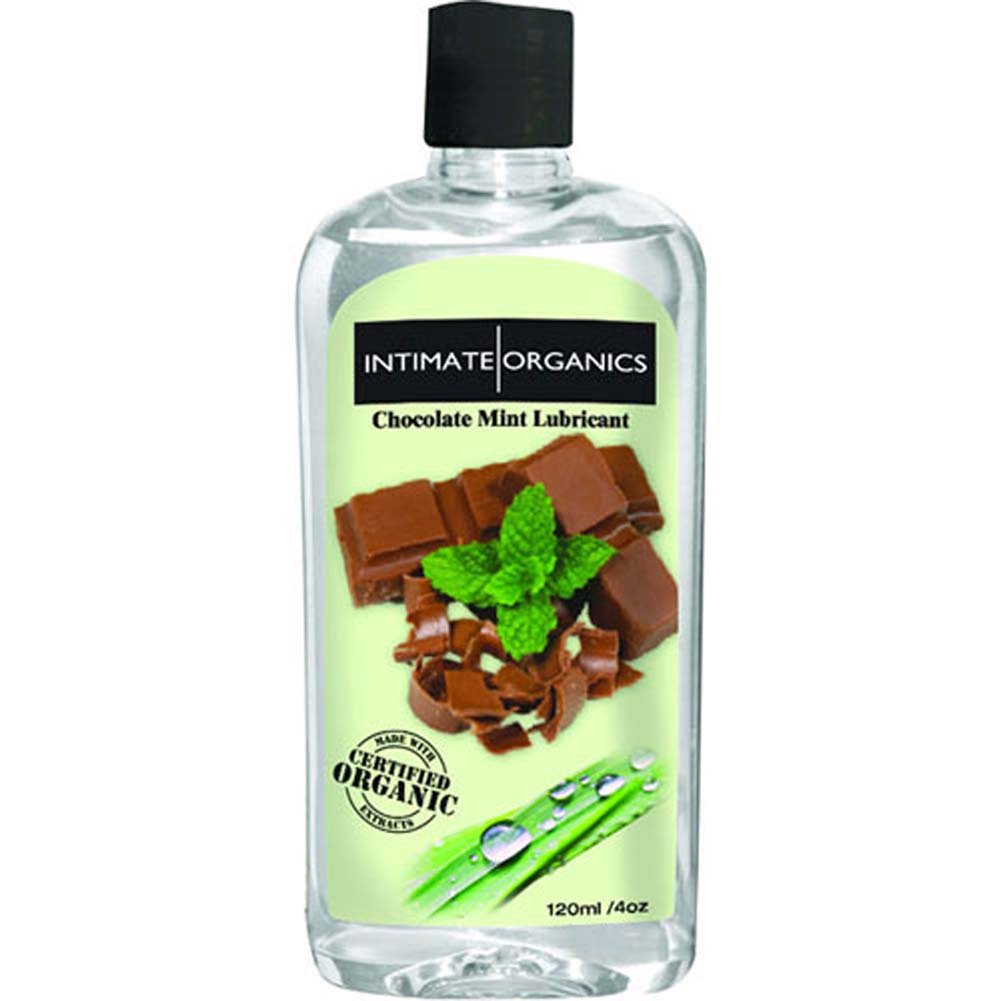 Intimate Organics Warming Intimate Lubricant 4 Oz 120ml Chocolate Mint - View #1