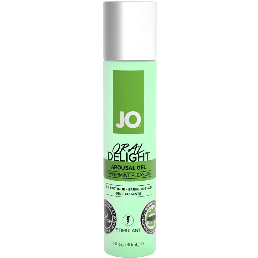JO Oral Delight Arousal Gel 1 Fl.Oz 30 mL Peppermint - View #2
