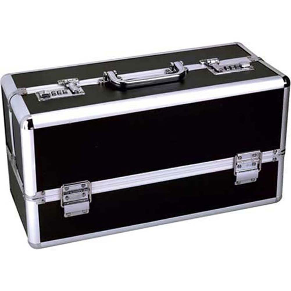 "Lockable Toy Chest Large 15"" Black - View #2"