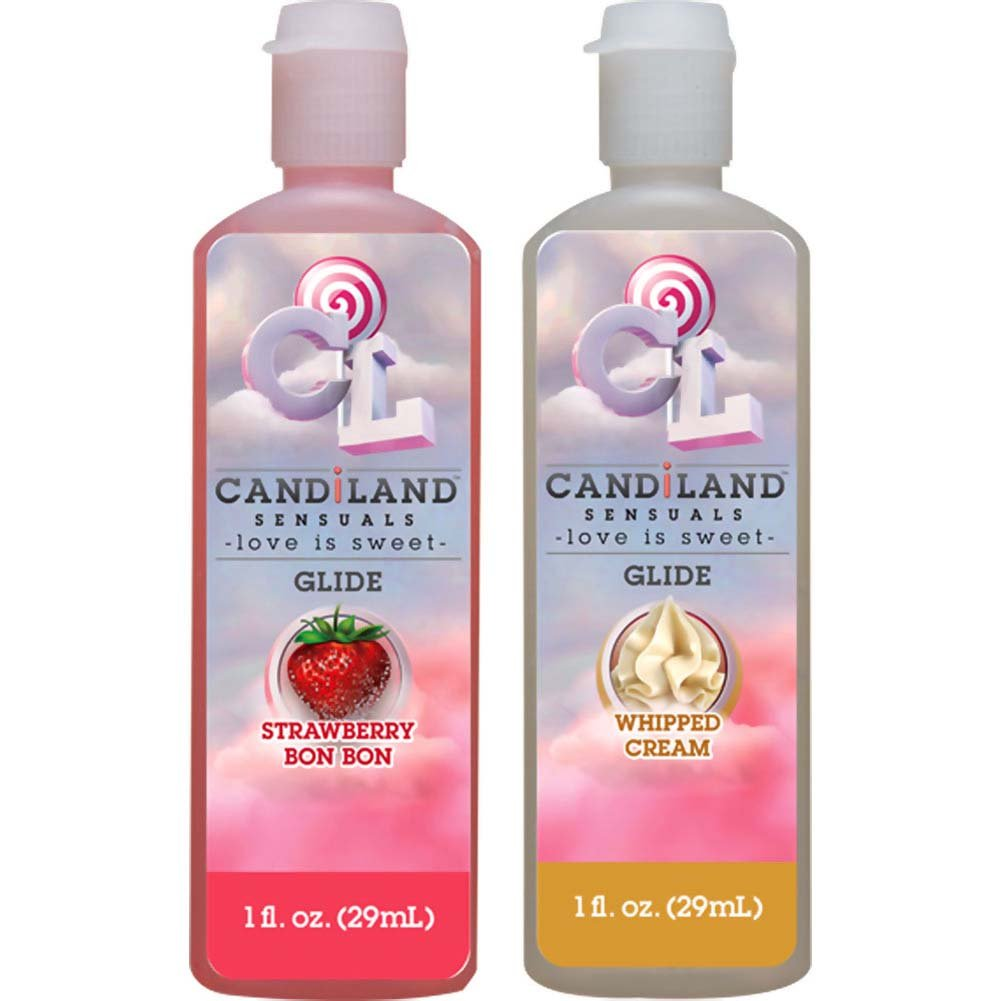 CANDiLAND SENSUALS Glide Lubricant Set 2 Pack 1 Fl. Oz. Each - View #2