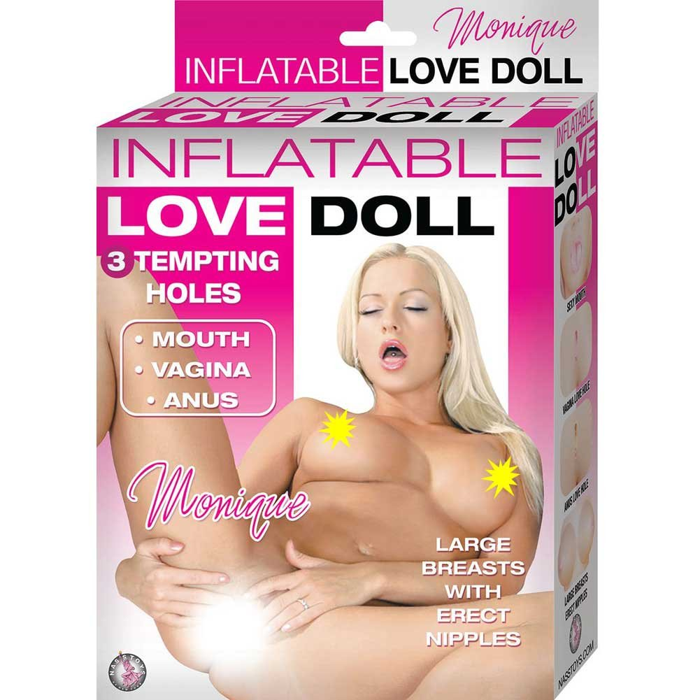 Monique Inflatable Love Doll Natural - View #1