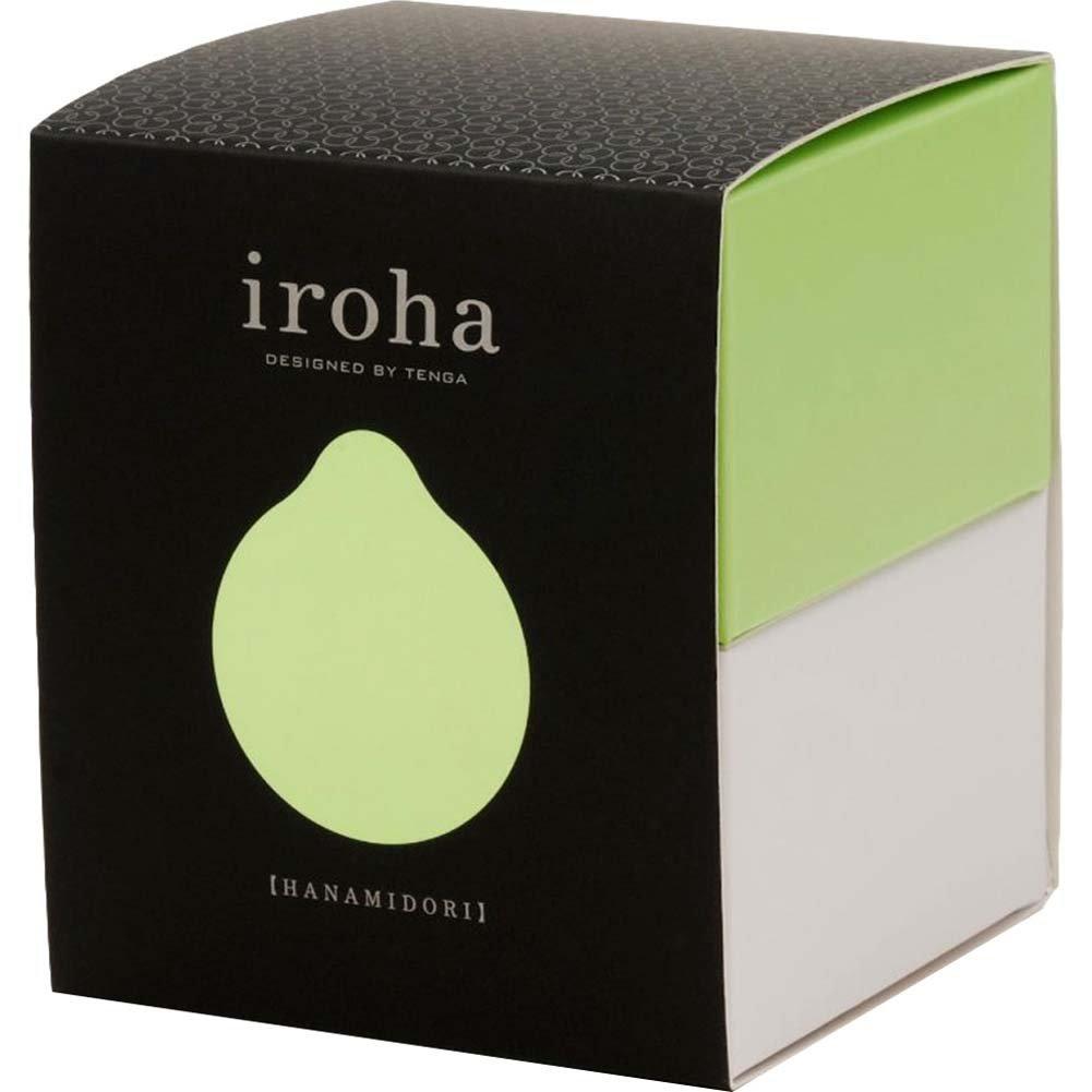 Tenga Iroha Midori Silicone Vibrating Personal Massager - View #4