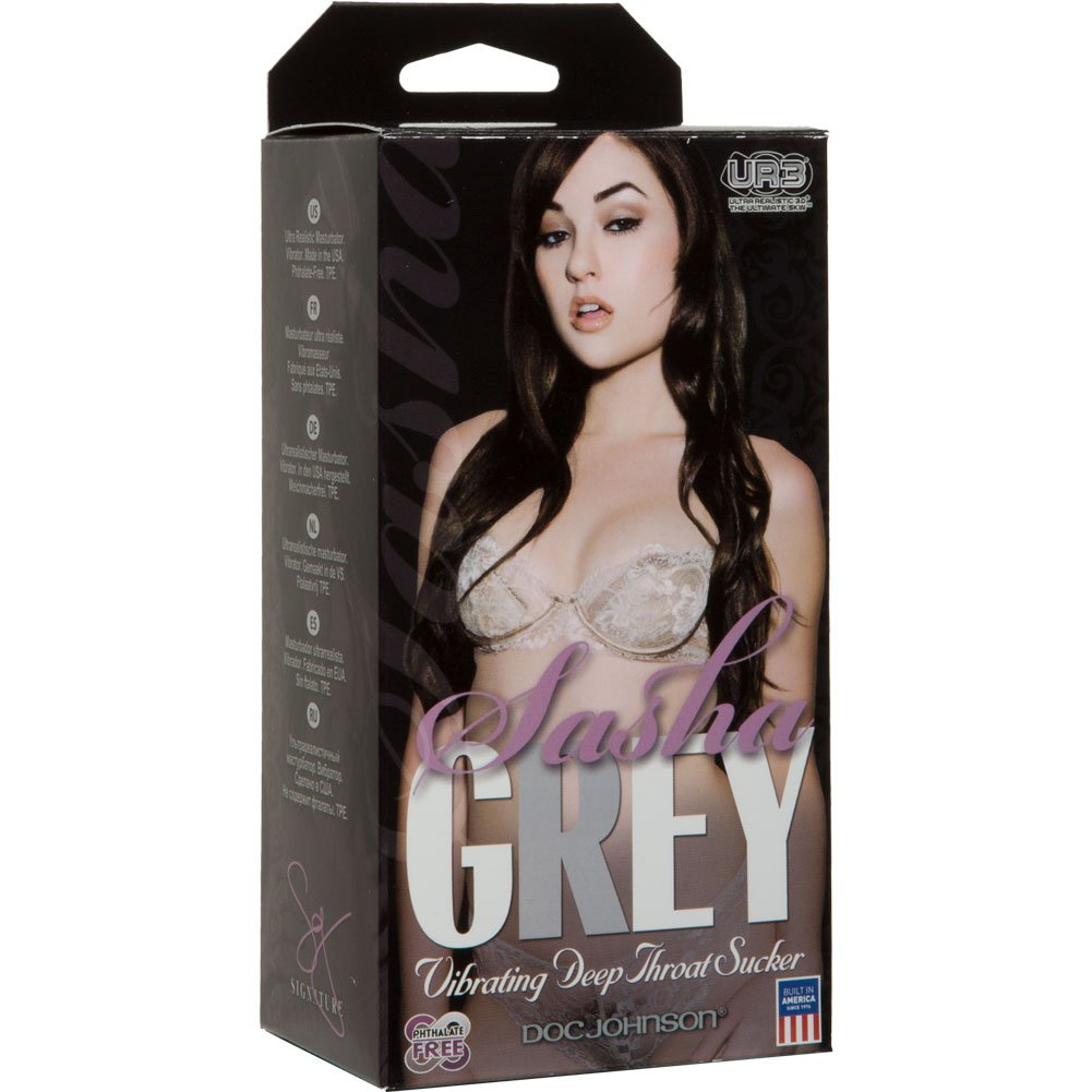 Sasha Grey Vibrating Deep Throat UR3 Stroker Natural - View #1