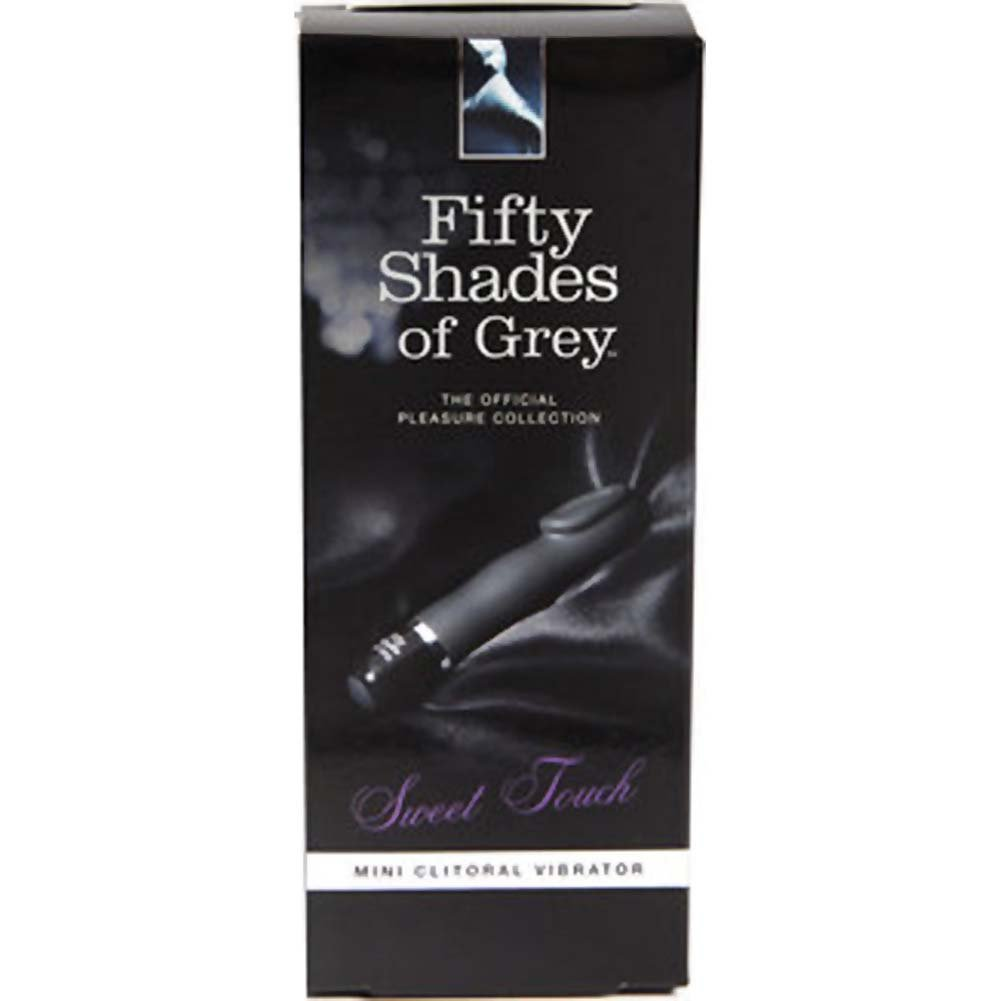 "Fifty Shades of Grey Sweet Touch Mini Clitoral Vibrator 5.5"" Black - View #4"