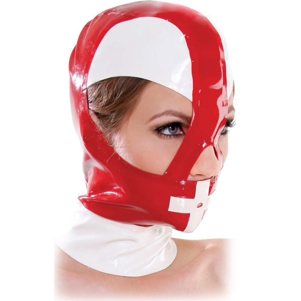 Fetish Fantasy Extreme Malpractice Mask Red - View #2