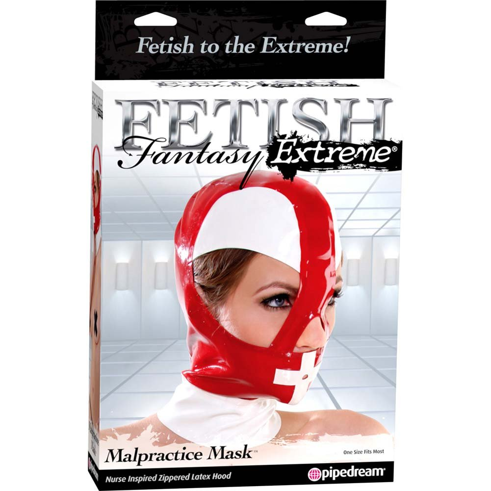 Fetish Fantasy Extreme Malpractice Mask Red - View #4