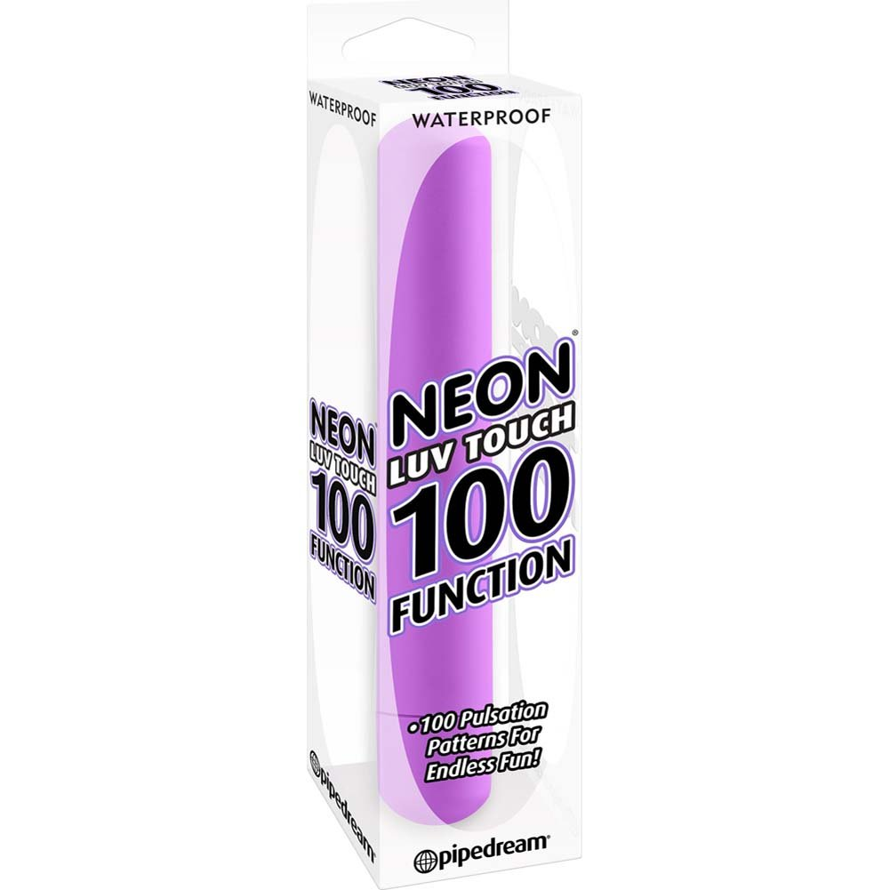 Neon Luv Touch 100 Function Vibrator Purple - View #1