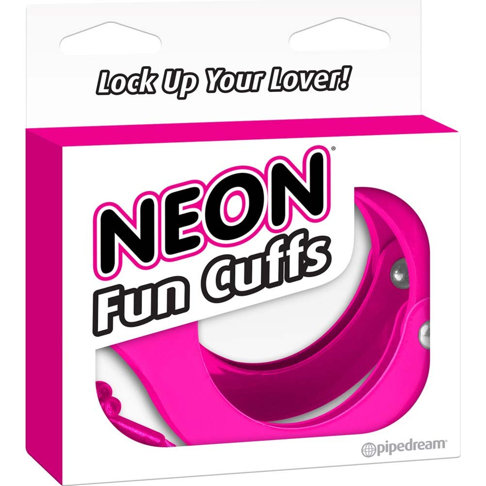 Neon Luv Touch Neon Fun Metal Cuffs Pink - View #4