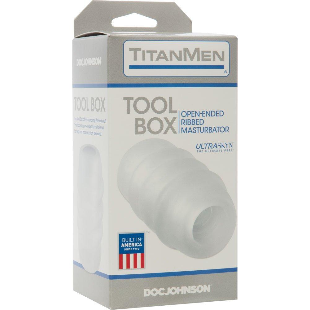 TitanMen Tools Tool Box UR3 Masturbator Clear - View #1