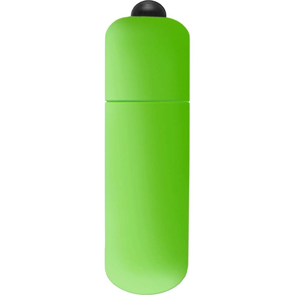 "Neon Luv Touch Vibrating Bullet 2.25"" Green - View #2"