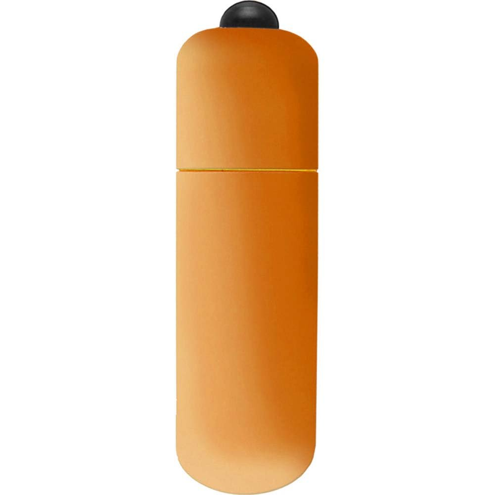 "Neon Luv Touch Vibrating Bullet 2.25"" Orange - View #2"