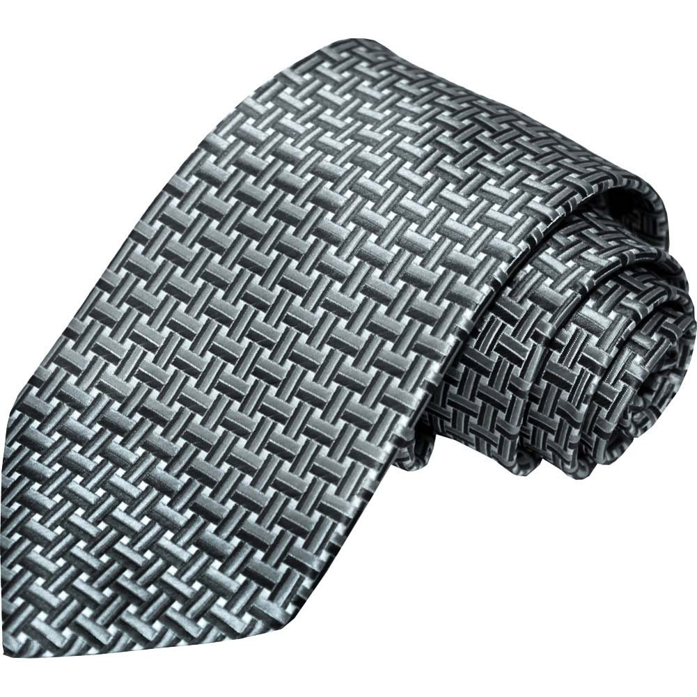 Laurant Bennet Shades of Luxury The Milano Grey Tie - View #1