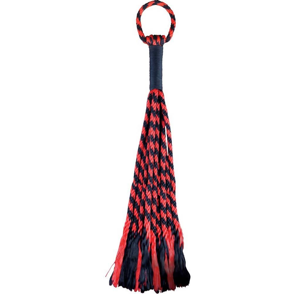 Adam and Eve Scarlet Couture Rope Flogger - View #3