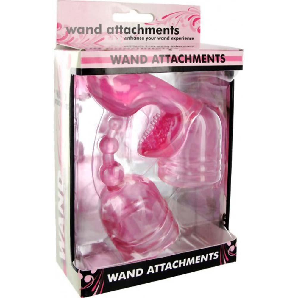 Wand Essentials Mini Set Wand Attachments Pink - View #4