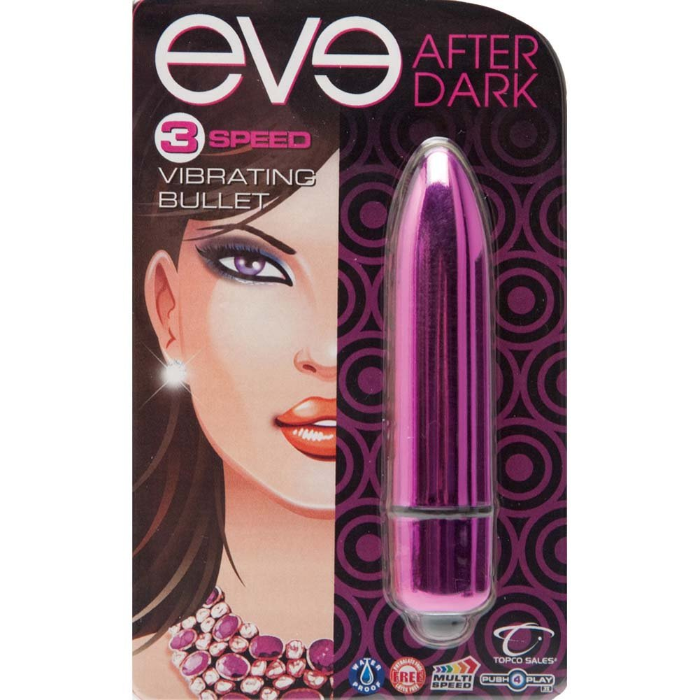 "Eve After Dark Vibrating Bullet 3.25"" Blush Pink - View #1"