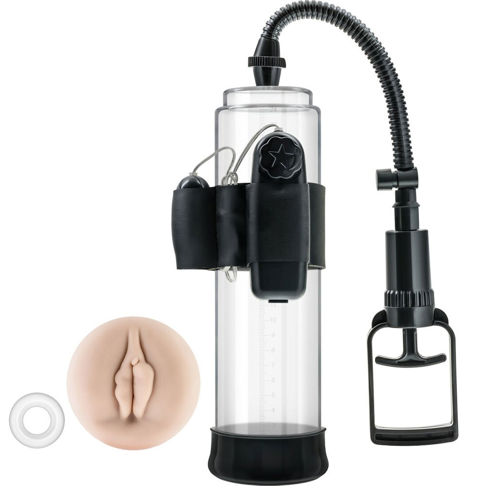 Blush Performance VX4 Vibrating Penis Pump for Men Black - View #2