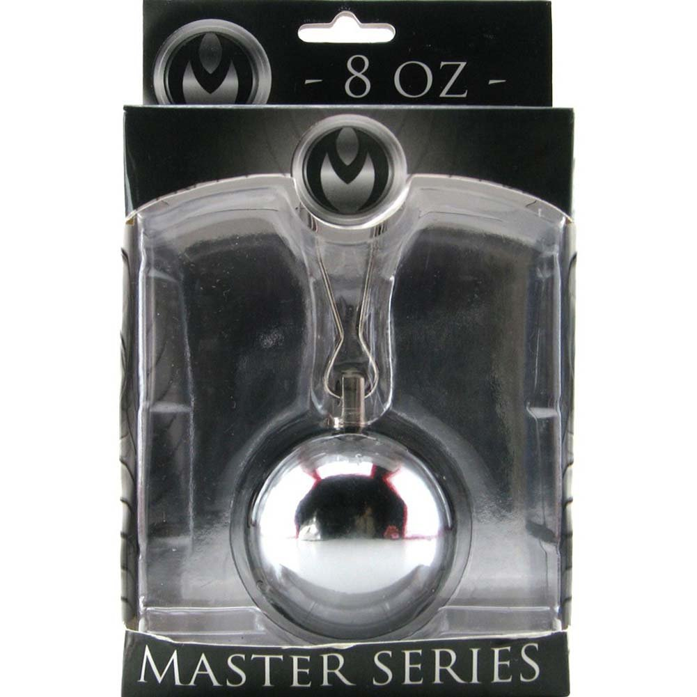 Master Series Deviants Orb 8 Oz Ball Weight Silver - View #4
