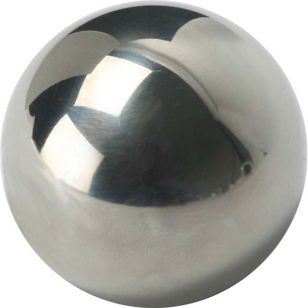 "Master Series Cannonball Intruders Orb 1.85"" Silver - View #2"