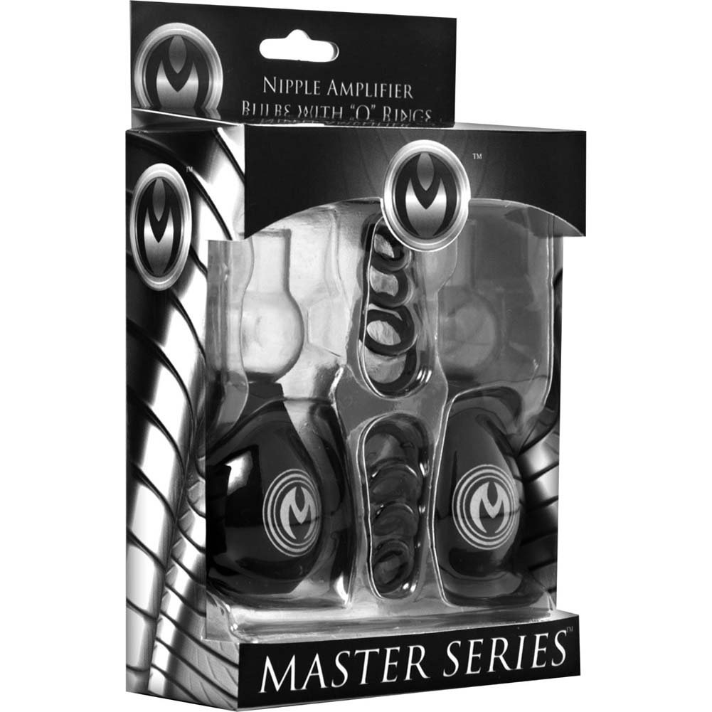 Master Series Pyramids Nipple Amplifier Bulbs Black - View #1